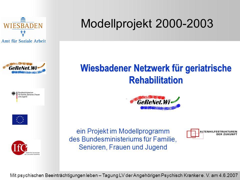 Wiesbadener Netzwerk für geriatrische Rehabilitation