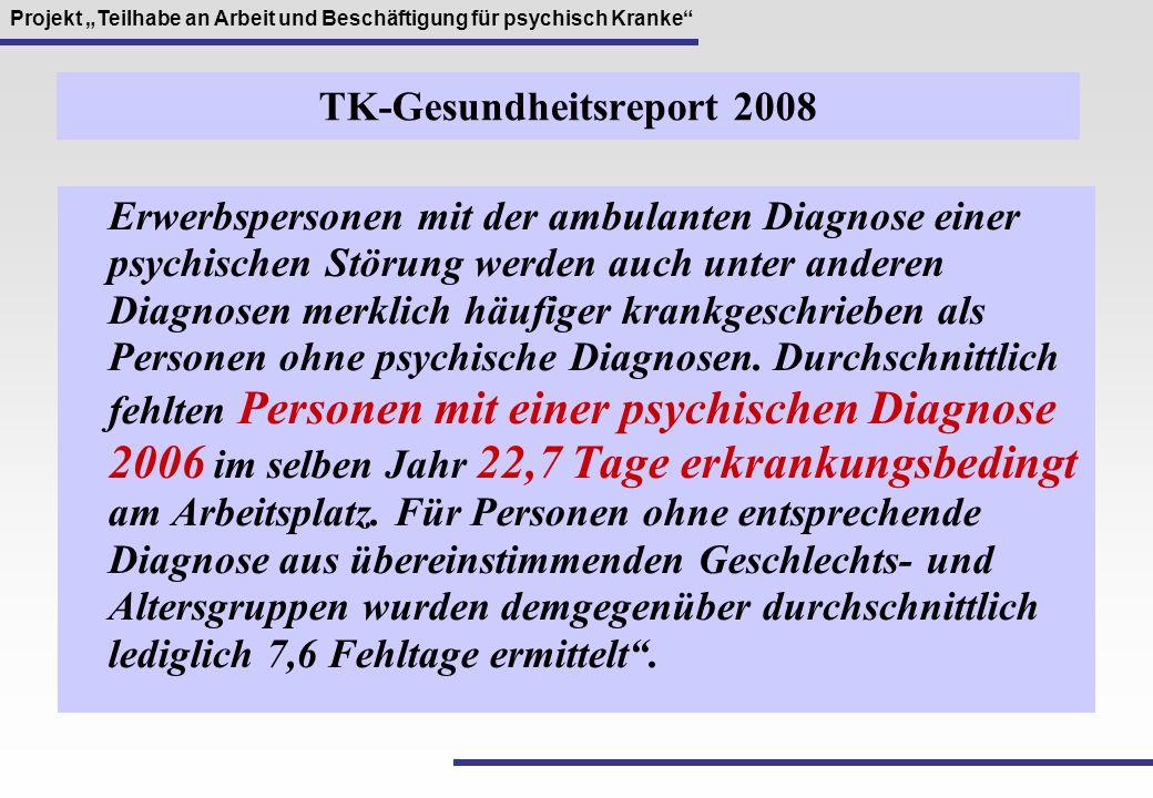 TK-Gesundheitsreport 2008
