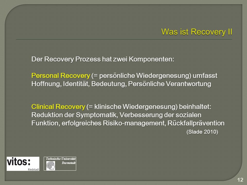 Was ist Recovery II