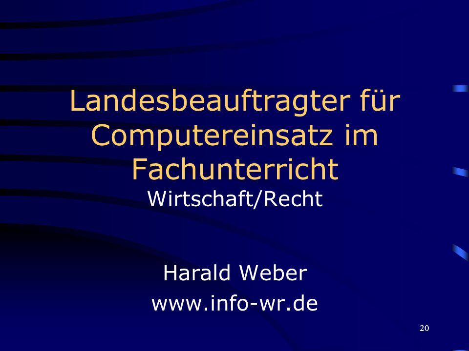 Harald Weber www.info-wr.de