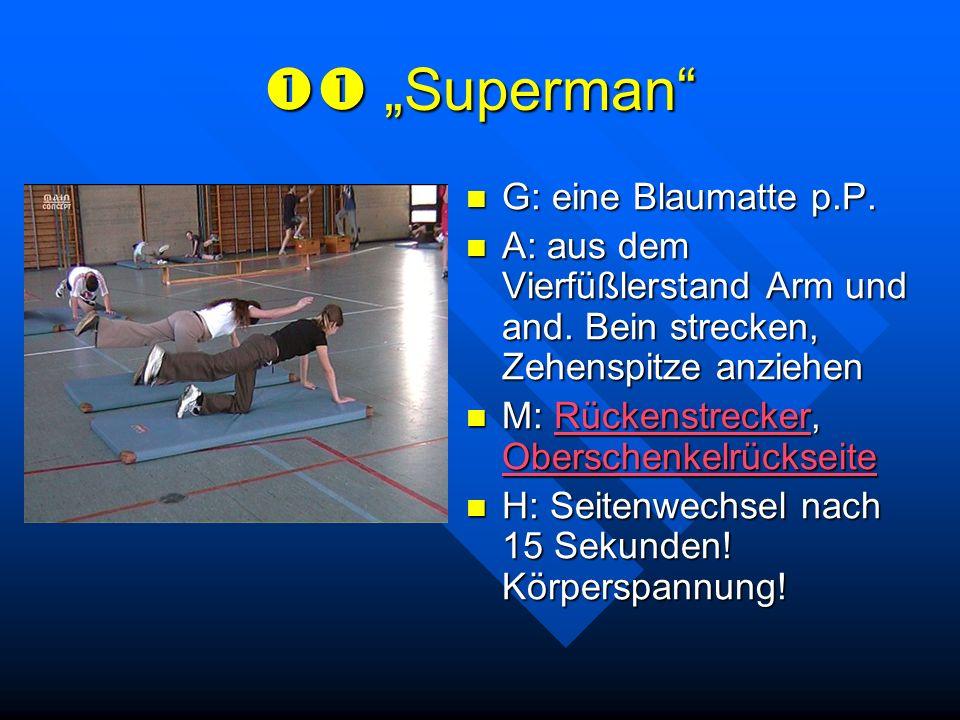 """ """"Superman G: eine Blaumatte p.P."""