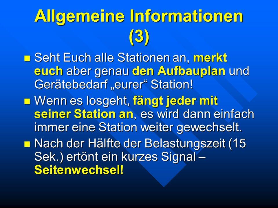 Allgemeine Informationen (3)