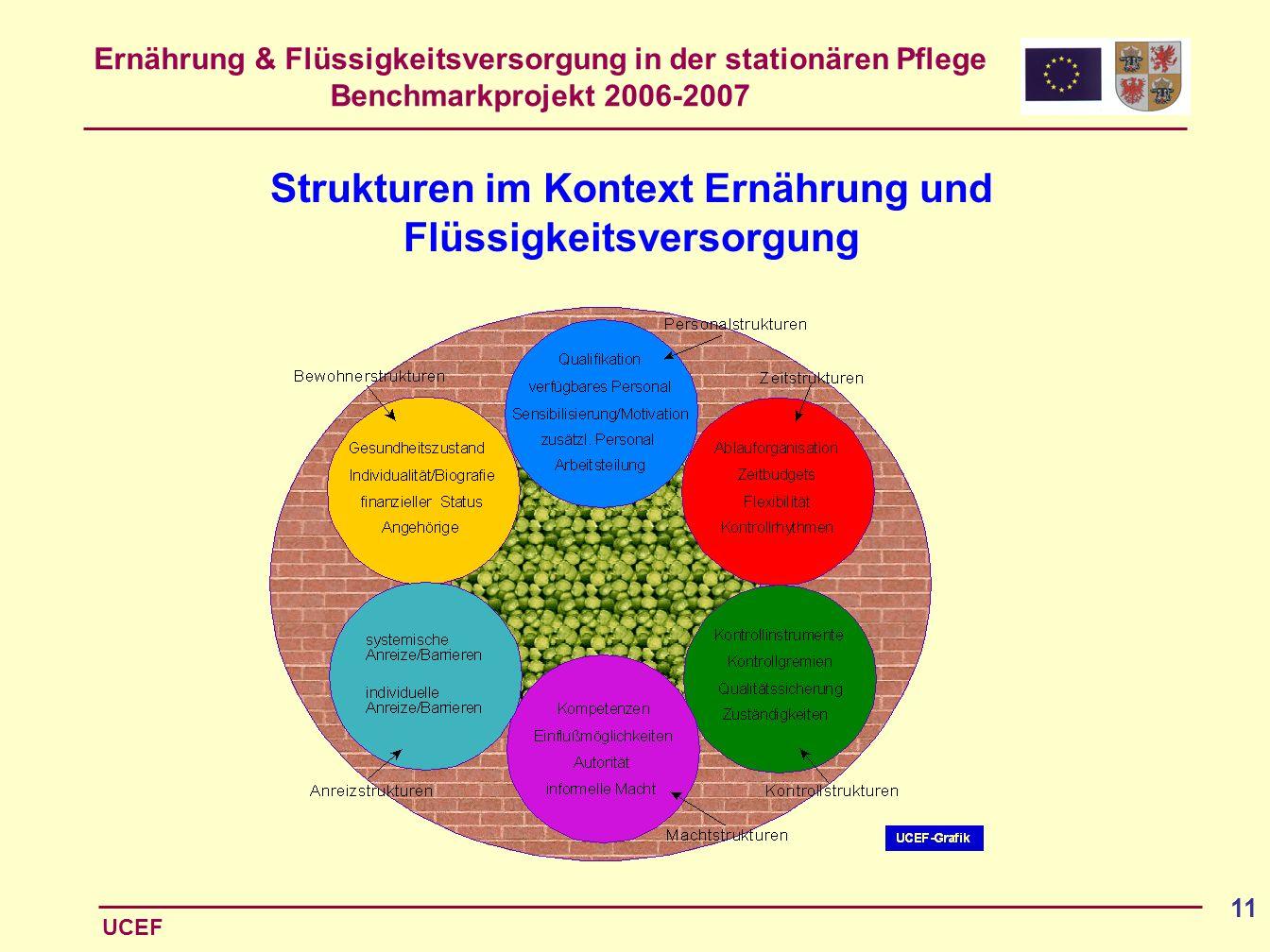 Strukturen im Kontext Ernährung und Flüssigkeitsversorgung