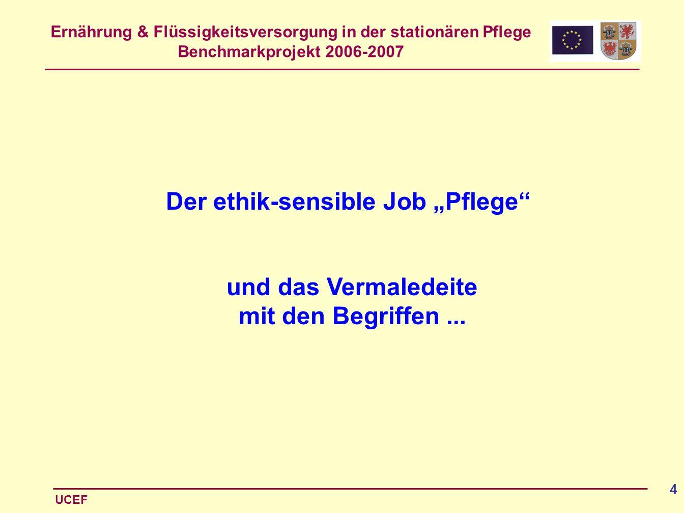 """Der ethik-sensible Job """"Pflege"""