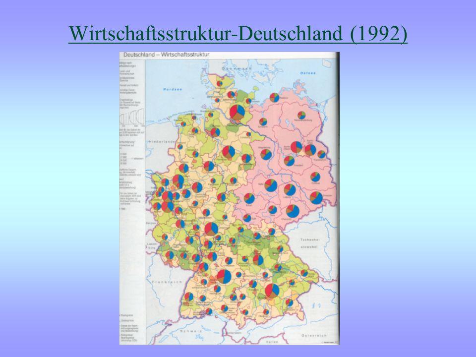 Wirtschaftsstruktur-Deutschland (1992)