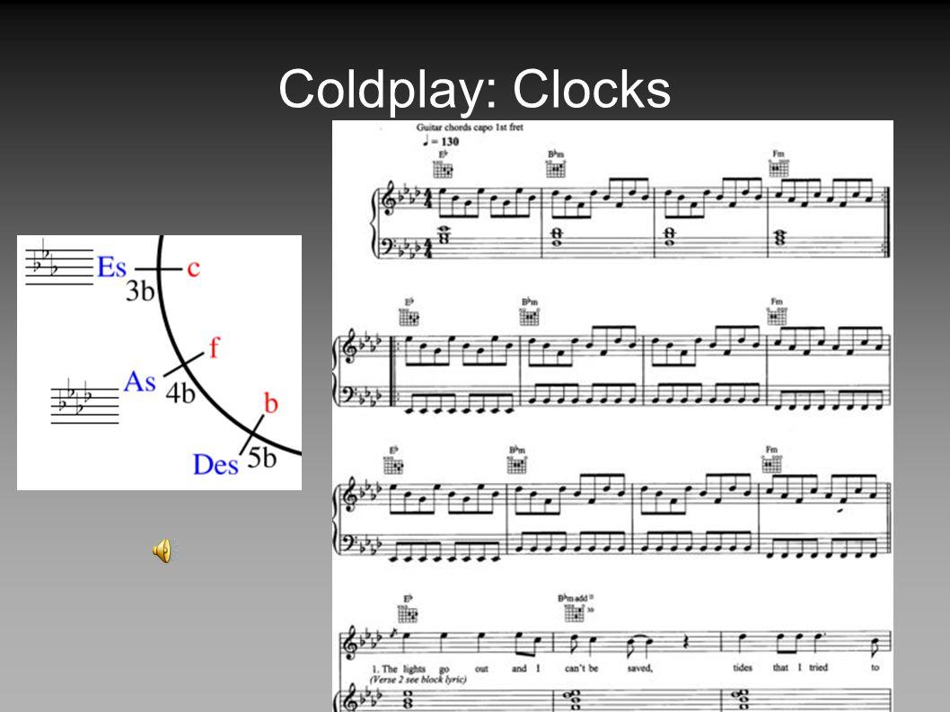 Coldplay: Clocks