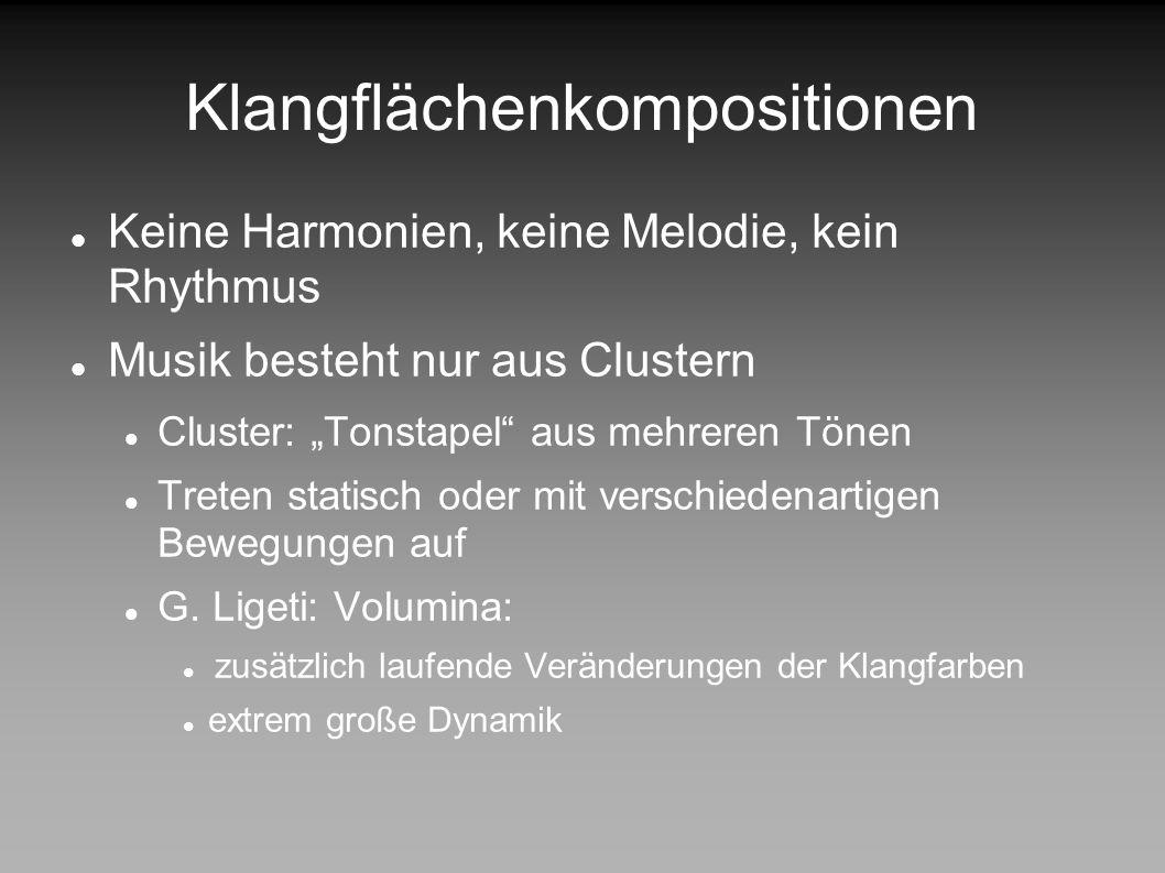 Klangflächenkompositionen