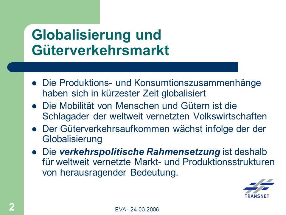 Globalisierung und Güterverkehrsmarkt
