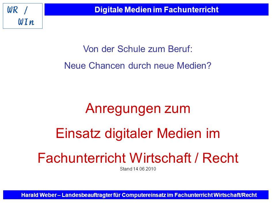 Einsatz digitaler Medien im