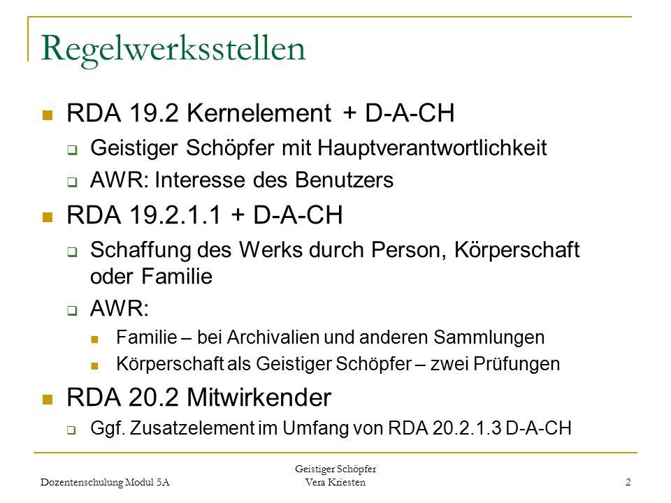 Regelwerksstellen RDA 19.2 Kernelement + D-A-CH RDA 19.2.1.1 + D-A-CH