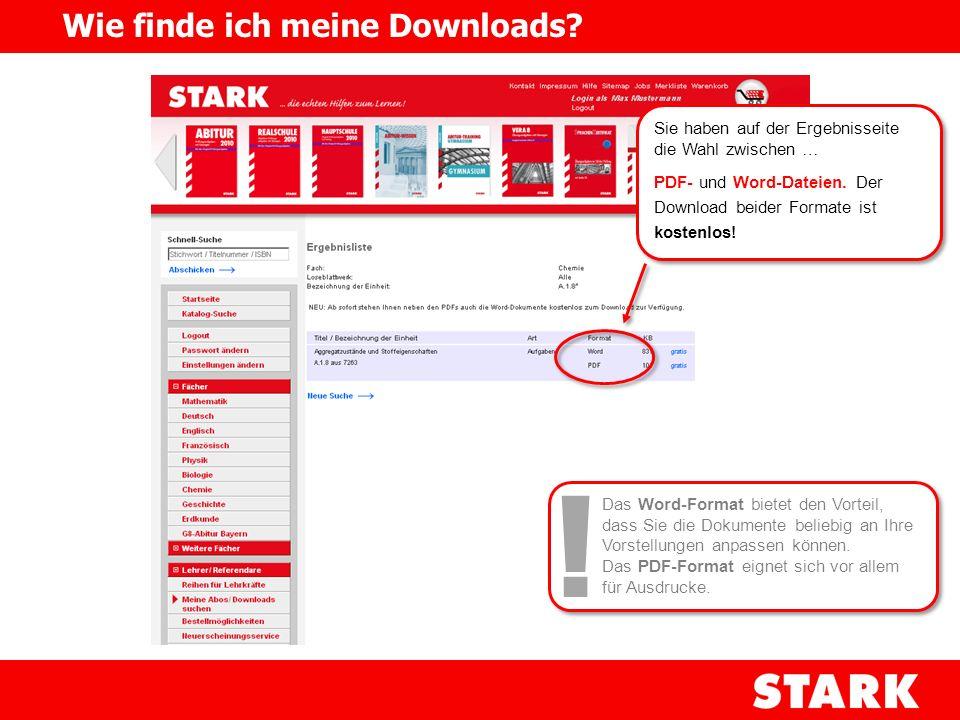 ! Wie finde ich meine Downloads