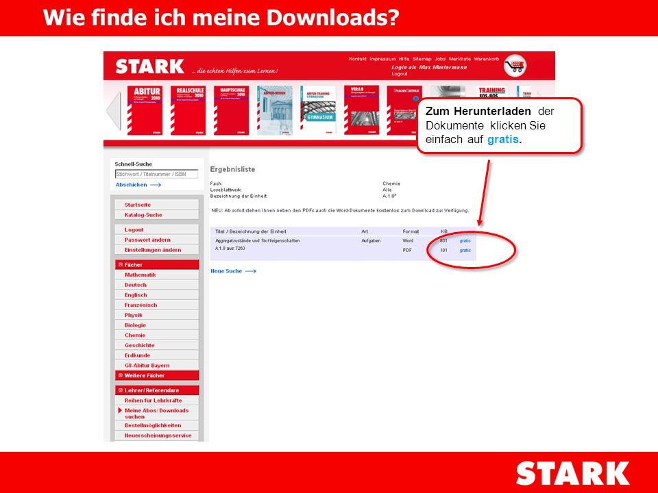 Wie finde ich meine Downloads