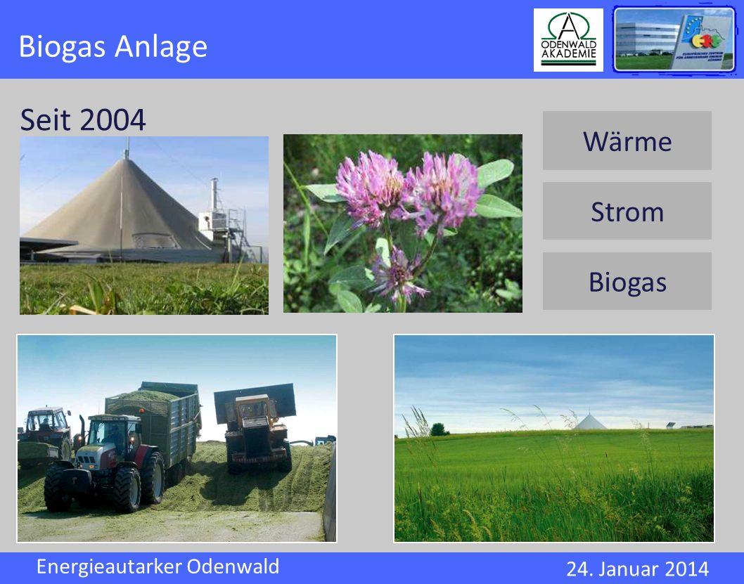 Biogas Anlage Seit 2004 Wärme Strom Biogas