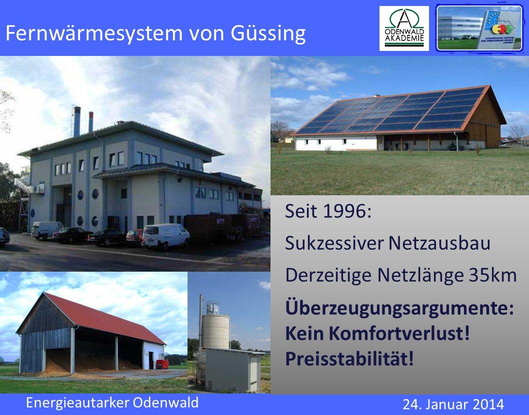 Fernwärmesystem von Güssing