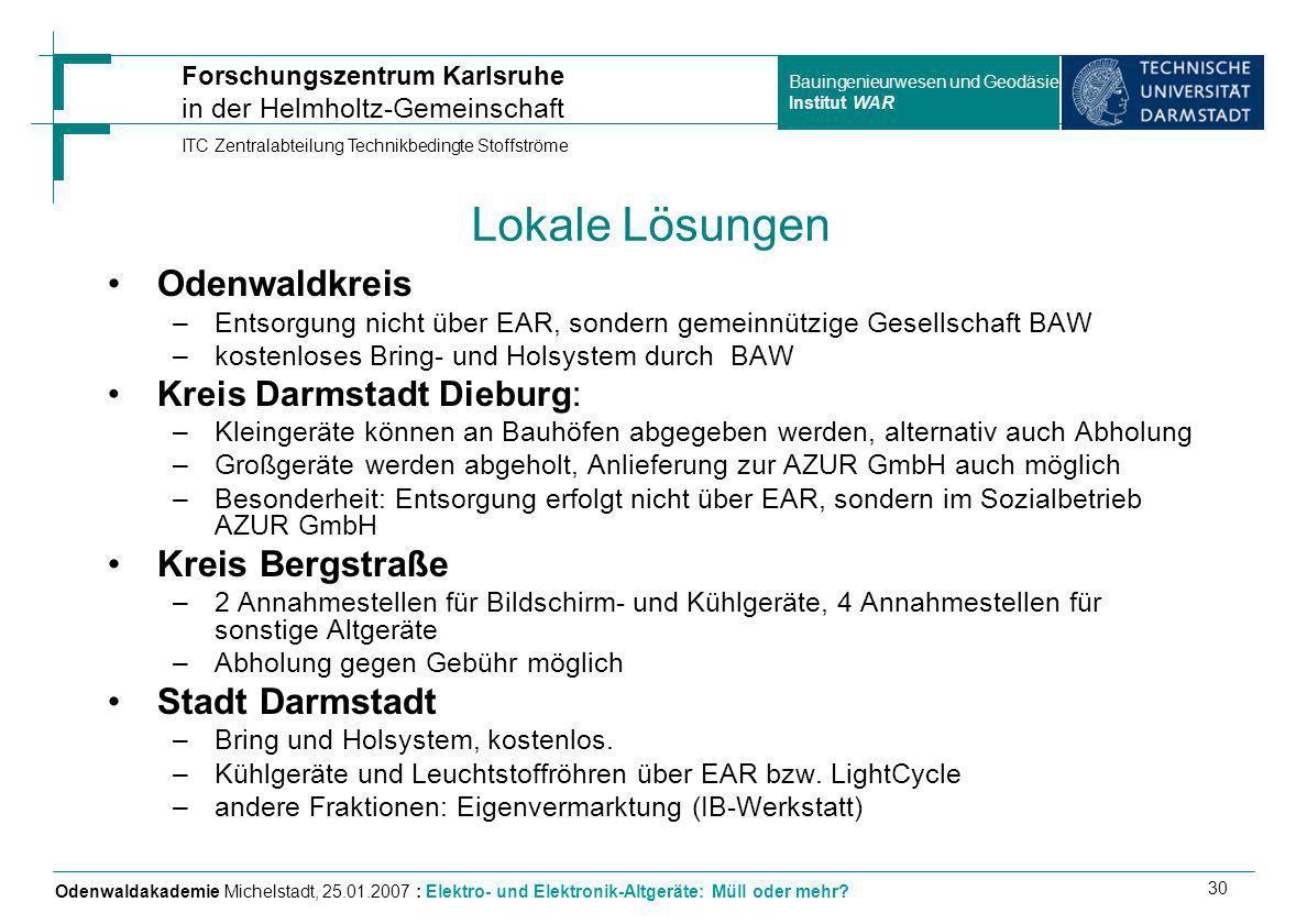 Lokale Lösungen Odenwaldkreis Kreis Bergstraße Stadt Darmstadt