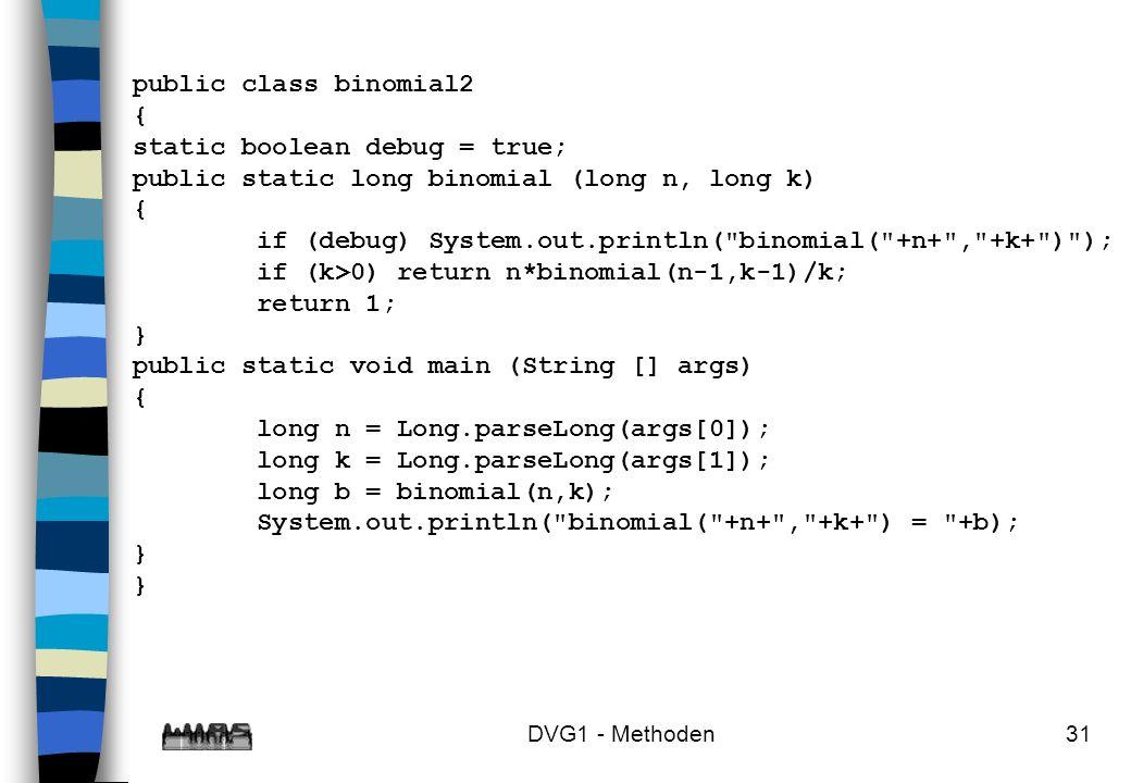 static boolean debug = true;