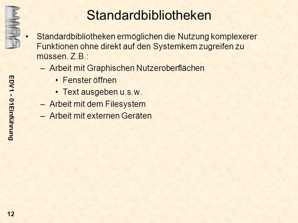 Standardbibliotheken