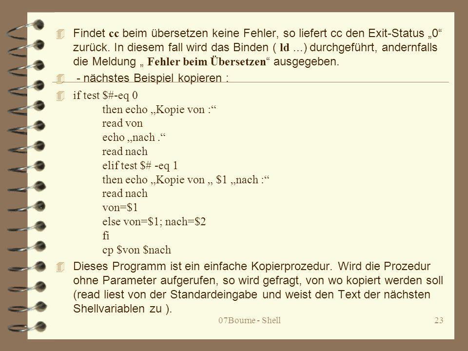 - nächstes Beispiel kopieren :