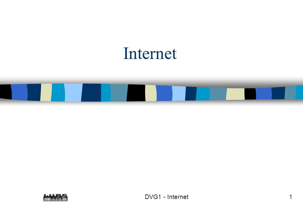 Internet DVG1 - Internet