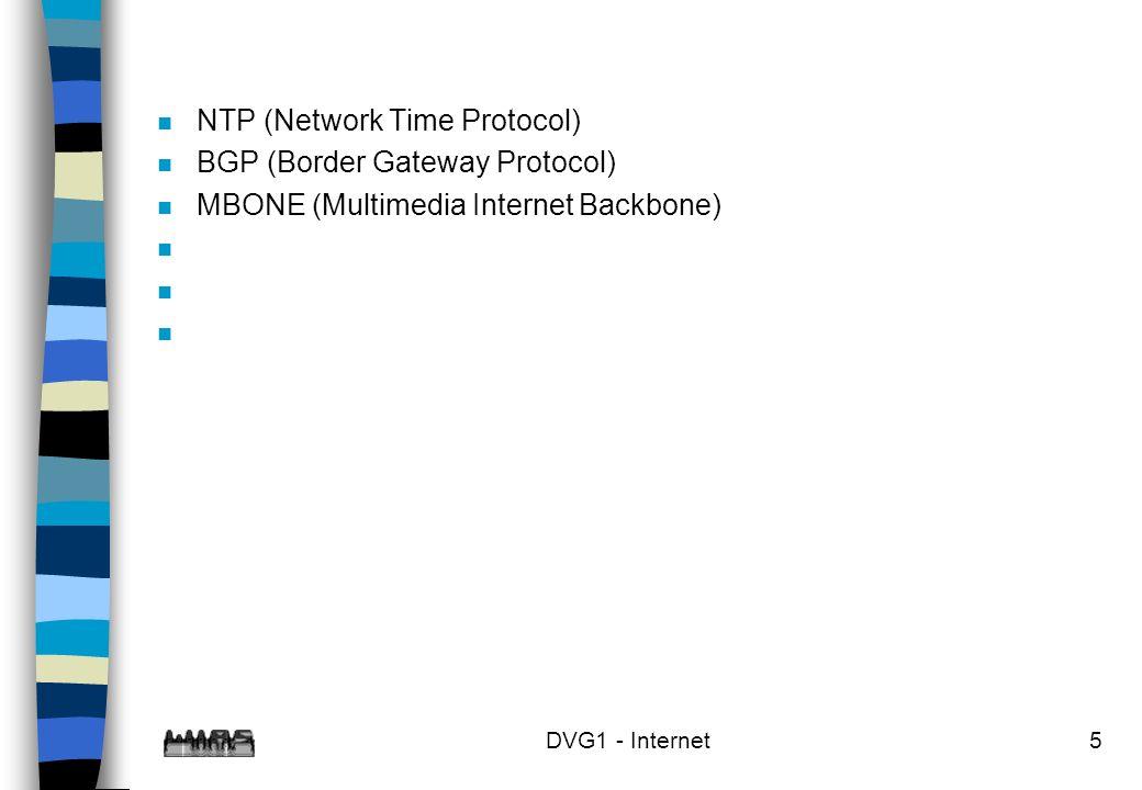 NTP (Network Time Protocol) BGP (Border Gateway Protocol)