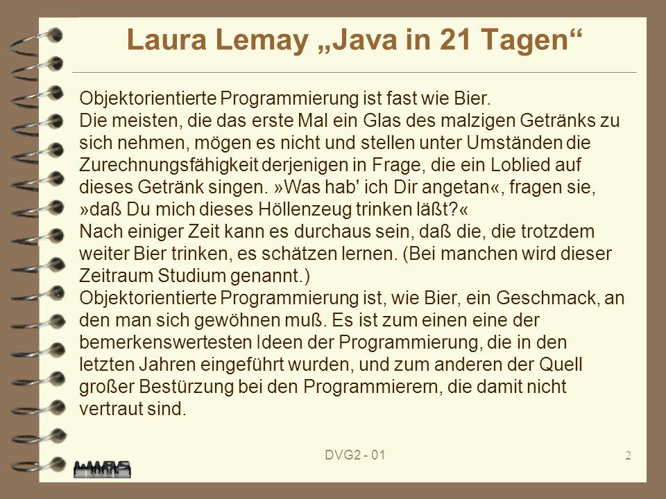 "Laura Lemay ""Java in 21 Tagen"