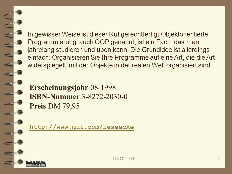 Erscheinungsjahr 08-1998 ISBN-Nummer 3-8272-2030-0 Preis DM 79,95