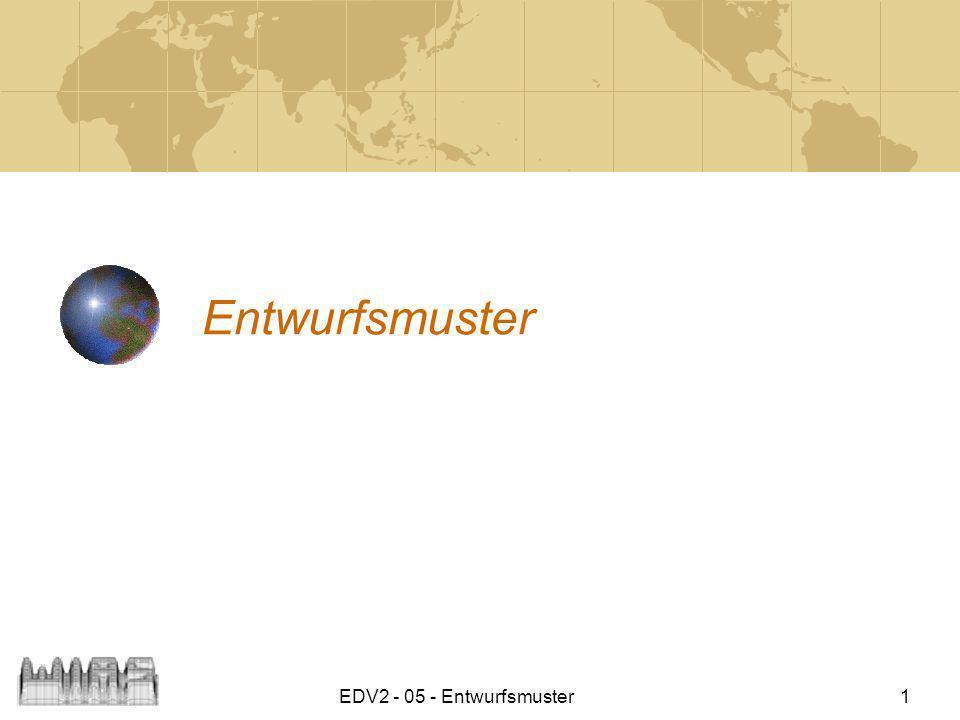 Entwurfsmuster EDV2 - 05 - Entwurfsmuster