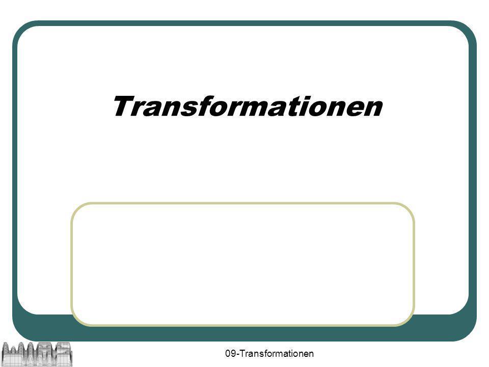 Transformationen 09-Transformationen