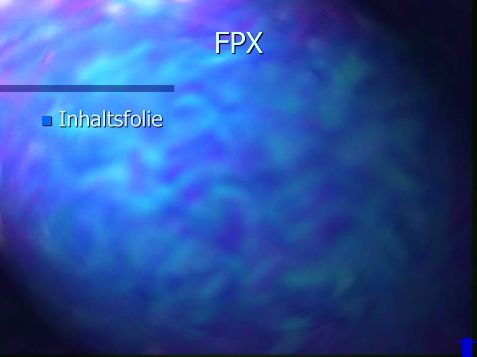 FPX Inhaltsfolie