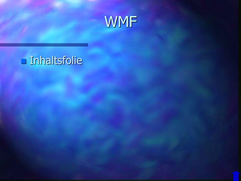 WMF Inhaltsfolie
