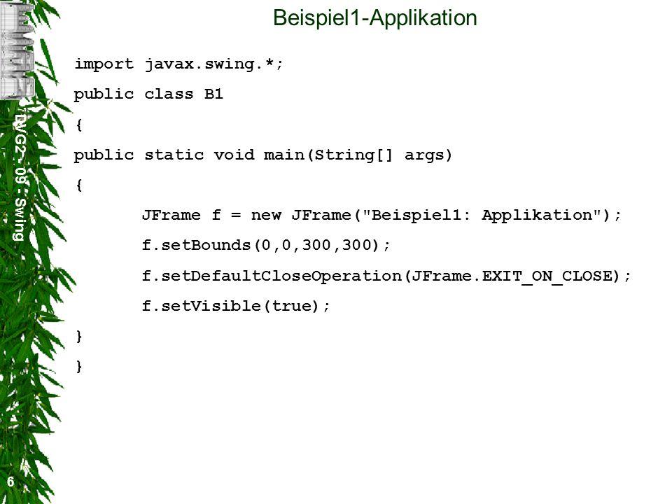 Beispiel1-Applikation