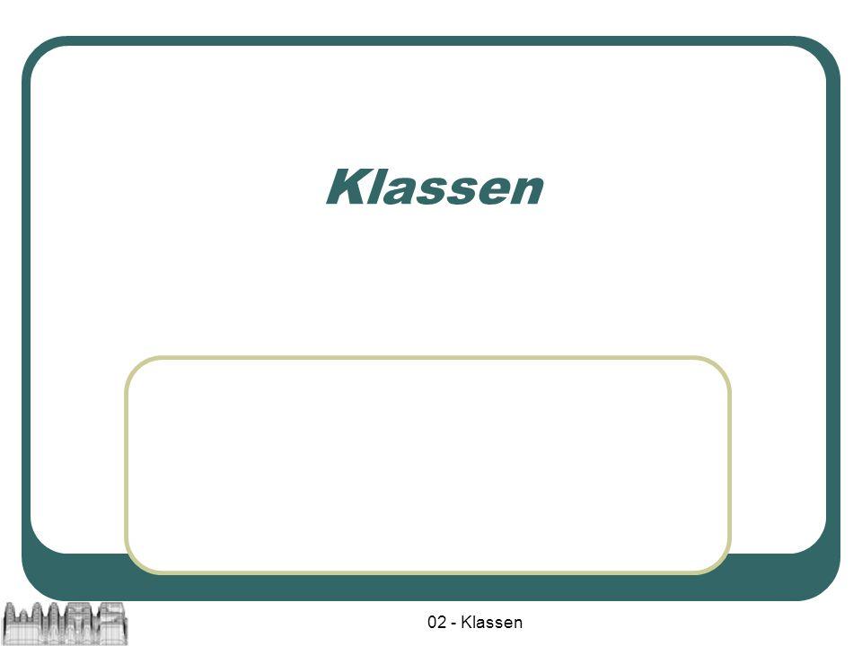 Klassen 02 - Klassen