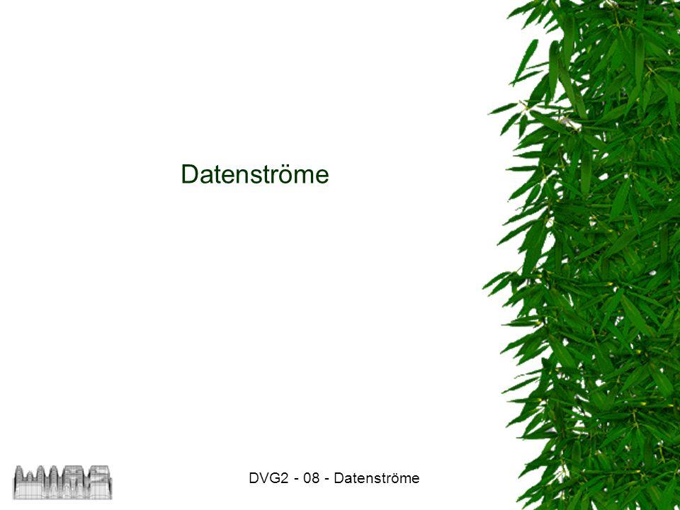 Datenströme DVG2 - 08 - Datenströme