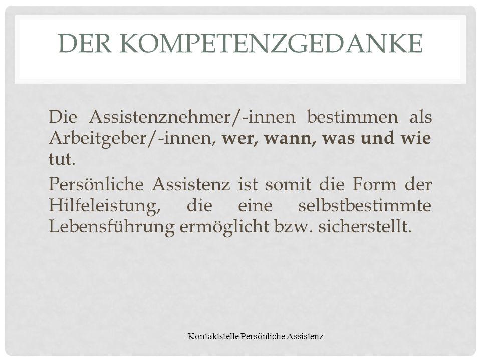 Kontaktstelle Persönliche Assistenz