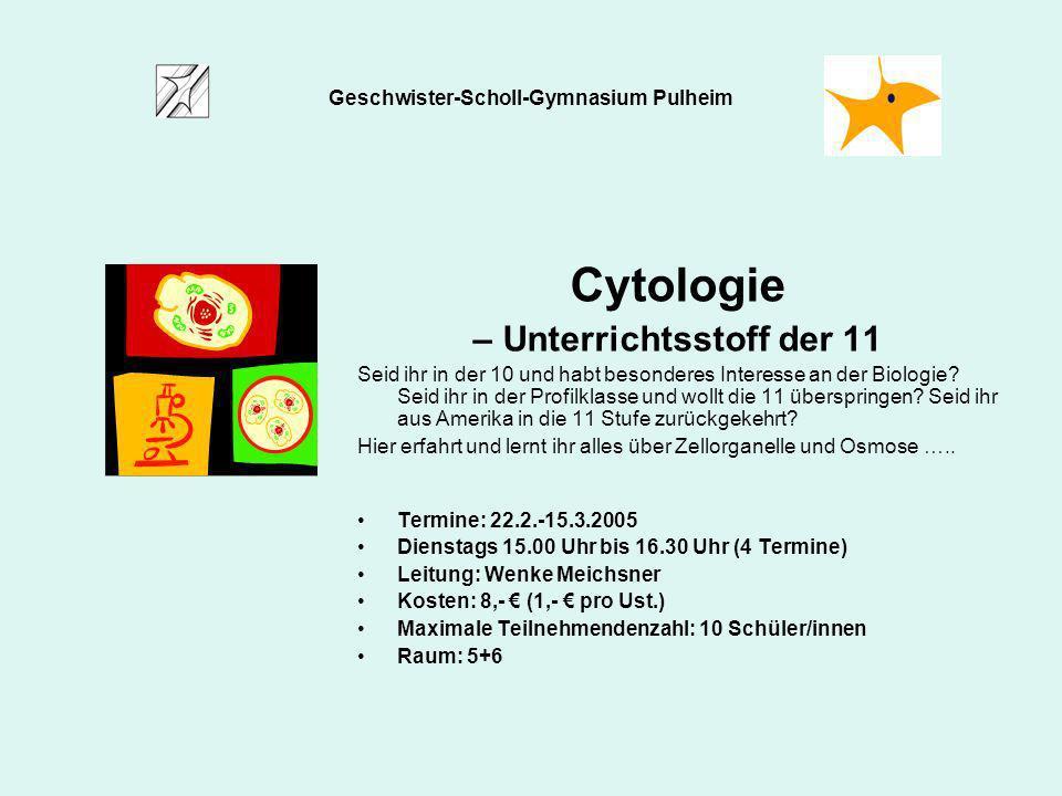 Geschwister-Scholl-Gymnasium Pulheim – Unterrichtsstoff der 11