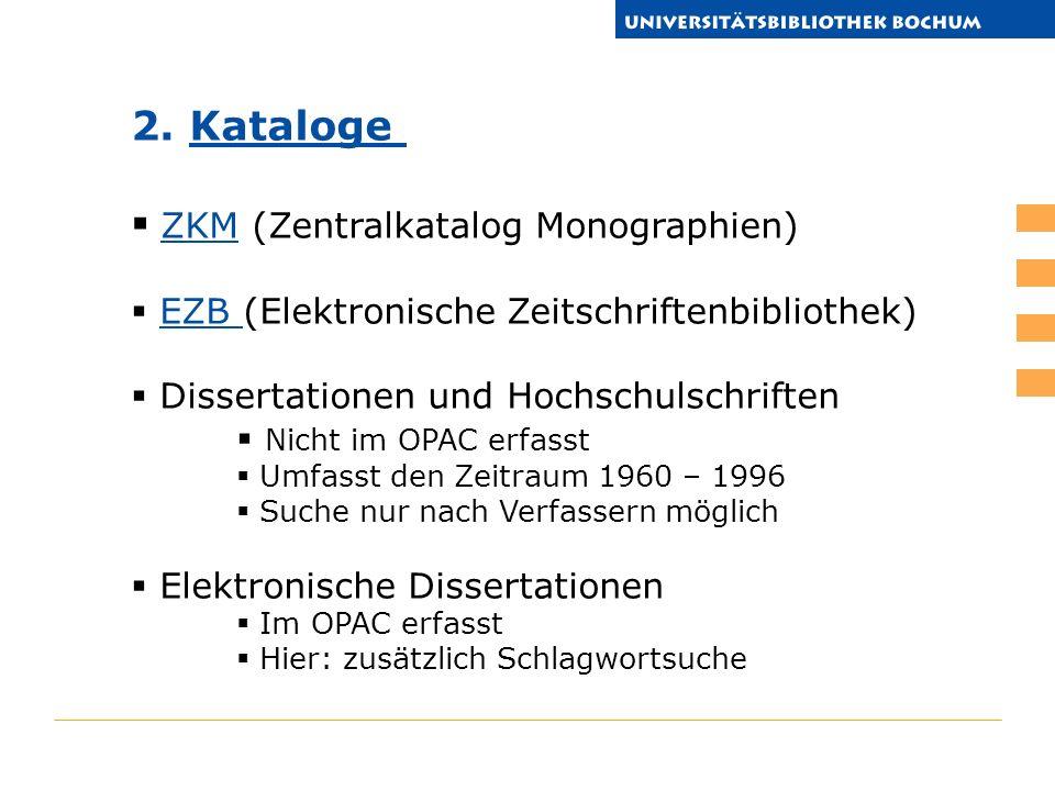 ZKM (Zentralkatalog Monographien)
