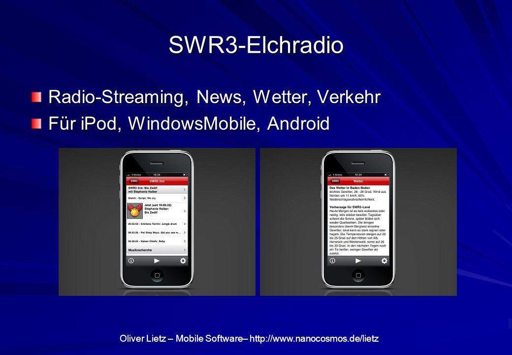 SWR3-Elchradio Radio-Streaming, News, Wetter, Verkehr