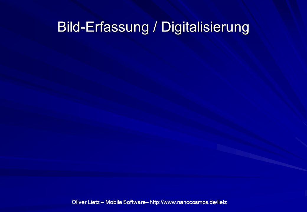Bild-Erfassung / Digitalisierung