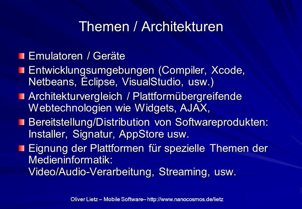 Themen / Architekturen