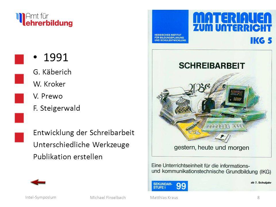 1991 G. Käberich W. Kroker V. Prewo F. Steigerwald