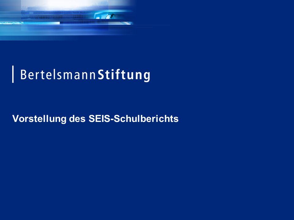 Vorstellung des SEIS-Schulberichts