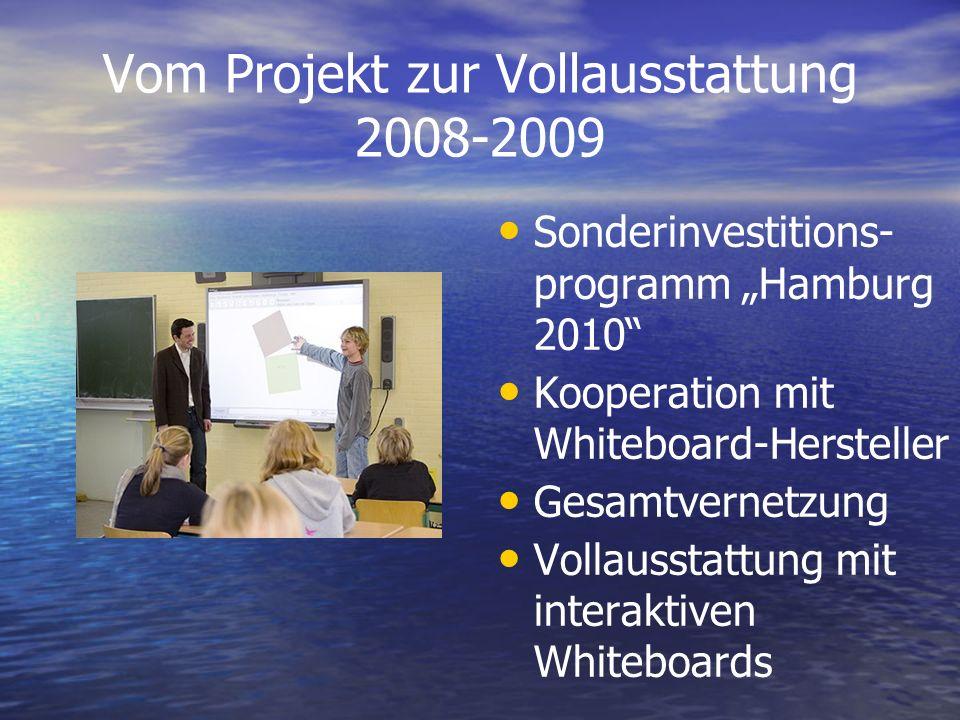Vom Projekt zur Vollausstattung 2008-2009