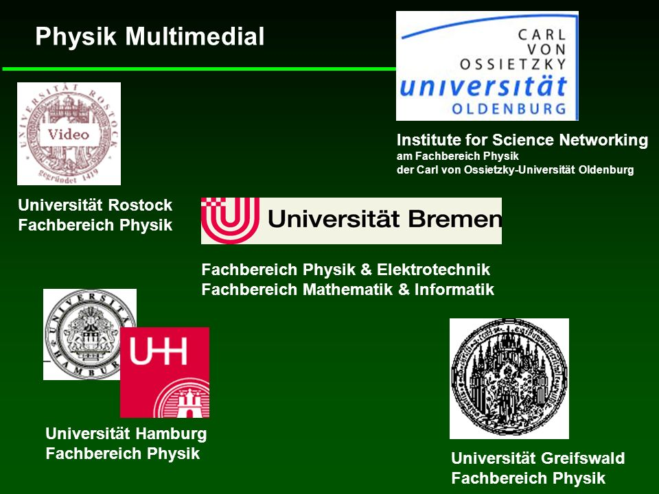 Physik Multimedial Institute for Science Networking
