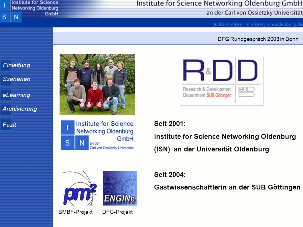 Institute for Science Networking Oldenburg
