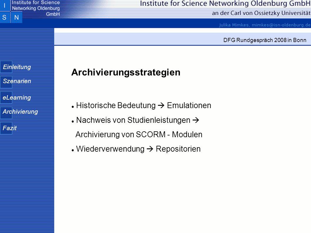 Archivierungsstrategien