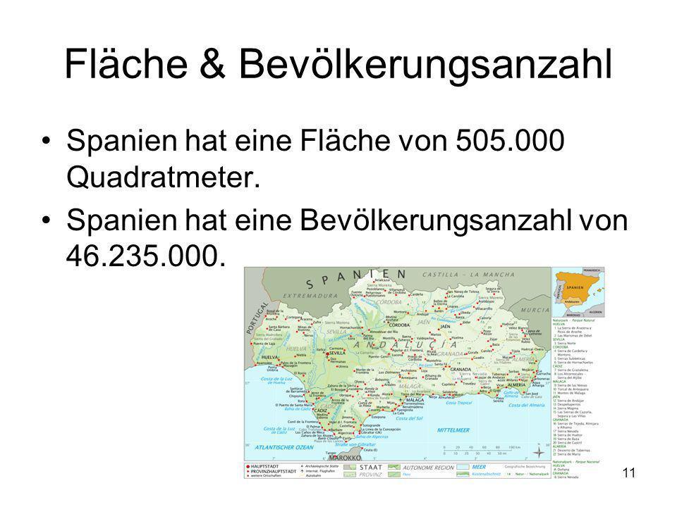 Fläche & Bevölkerungsanzahl