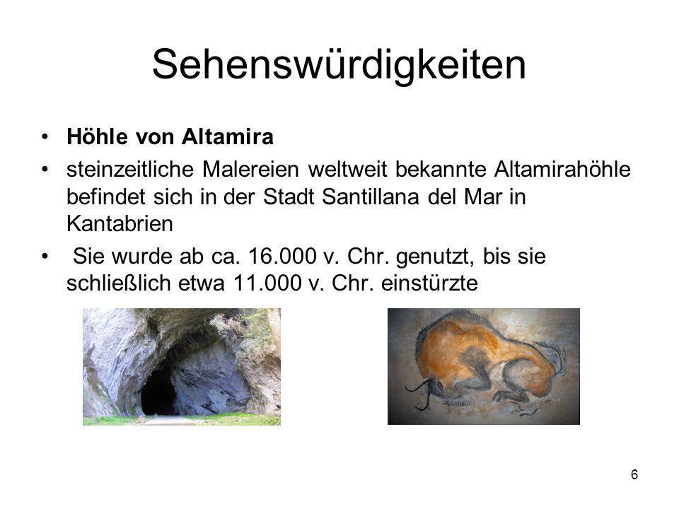 Sehenswürdigkeiten Höhle von Altamira