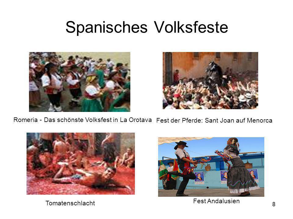 Spanisches Volksfeste