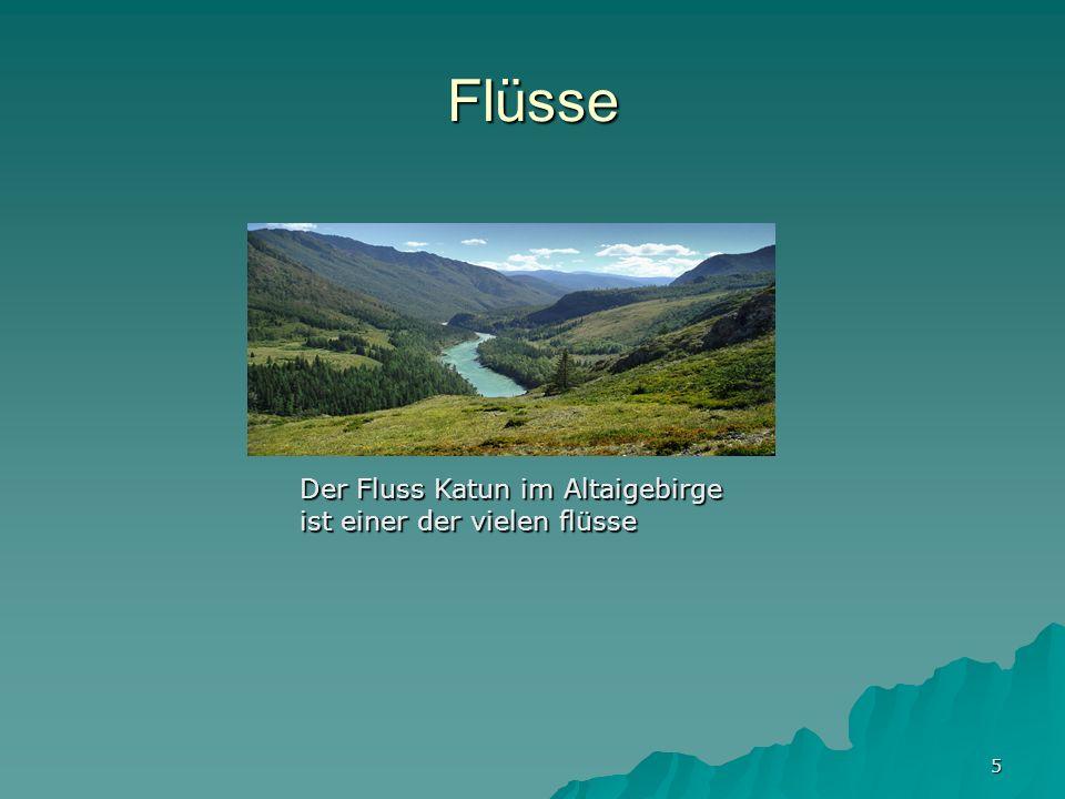 Flüsse Der Fluss Katun im Altaigebirge ist einer der vielen flüsse