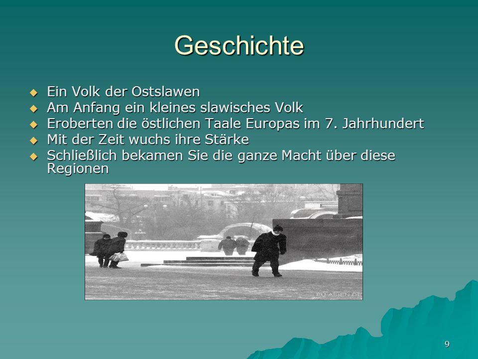 Geschichte Ein Volk der Ostslawen